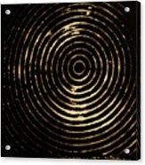 Bleached Circles Acrylic Print