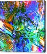 Bleached Vibrance Acrylic Print