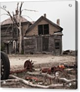 Bleak House Acrylic Print
