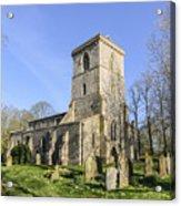 Bledlow Church Acrylic Print