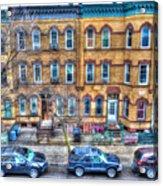 Bleecker Street In Bushwick - Brooklyn Acrylic Print