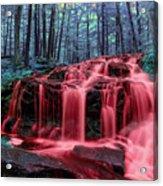 Bleeding Falls 1 Acrylic Print