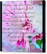 Blessed Are You Acrylic Print