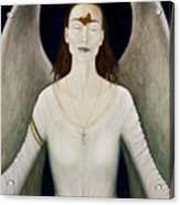 Blessed By A Winged Being Acrylic Print