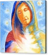 Blessed Mother Acrylic Print