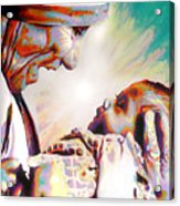 Blessed Mother Teresa Acrylic Print