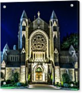 Blessed Sacrement Cathedral Acrylic Print