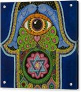 Blessing Acrylic Print by Galina Bachmanova