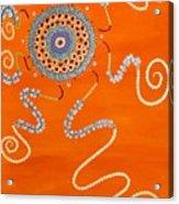 Blessing Sun Acrylic Print