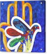 Blessings Of Peace Acrylic Print by Mordecai Colodner