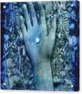 Bleu Danse Macabre Acrylic Print