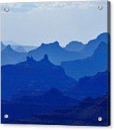 Bleu Grand Canyon Acrylic Print