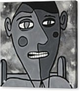 Blind Date Guy Acrylic Print