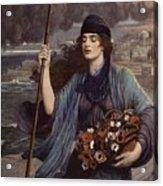 Blind Girl Of Pompeii Acrylic Print