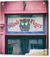 Blind Tiger Acrylic Print