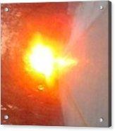 Blinding Iowa Sunrise Acrylic Print