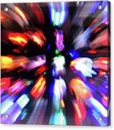 Blinky The Star Acrylic Print
