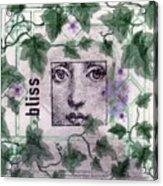 Bliss On Tile Acrylic Print