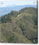 Blithedale Ridge On Mount Tamalpais Acrylic Print