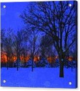 Blizzard Blues 2 Acrylic Print