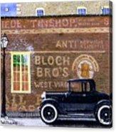 Bloch's Wall Acrylic Print