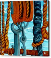 Block And Tackle Acrylic Print
