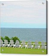 Block Island Hotel Ocean View Acrylic Print