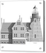 Block Island South East Rhode Island Acrylic Print