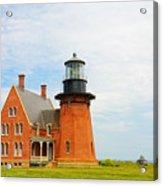 Block Island Southeast Lighthouse Artwork Acrylic Print