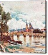 Blois Acrylic Print