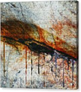 Blood From A Stone Acrylic Print