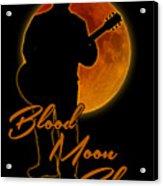 Blood Moon Blues T Shirt Acrylic Print
