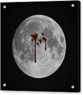 Blood Moon Acrylic Print