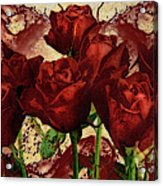 Blood Red Lust Acrylic Print