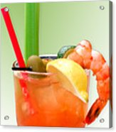 Bloody Mary Hand-crafted Acrylic Print