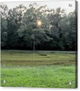 Bloody Pond Shiloh National Military Park Tennessee Acrylic Print