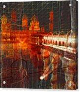 Bloody String Theory Acrylic Print