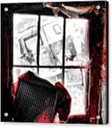 Bloody Walls Acrylic Print