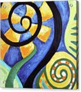 Blooming Aka Chris' Snail Acrylic Print