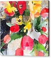 Blooming Fools Acrylic Print