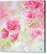 Blooming Love Acrylic Print