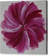 Blooming Root Chakra Acrylic Print