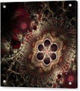 Blooming World II Acrylic Print