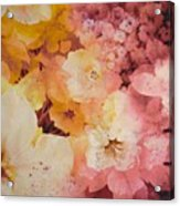 Blooms-of-summer Acrylic Print