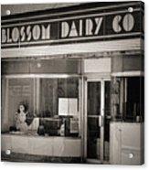 Blossom Dairy Co. Acrylic Print