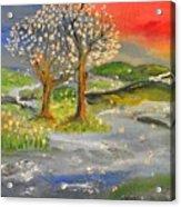 Blossom Trees Acrylic Print