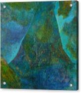 Blue .9. Acrylic Print