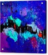Blue Abstract 55698 Acrylic Print