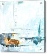 Blue Abstract 12m1 Acrylic Print