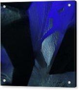 Blue And Black No. 1 Acrylic Print